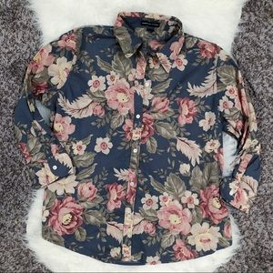 Floral print American Living top